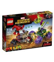 KLOCKI LEGO SUPER HEROES HULK KONTRA CZERWONY HULK 76078