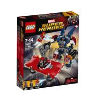 KLOCKI LEGO SUPER HEROES IRON MAN: DETROIT STEEL ATAKUJE 76077