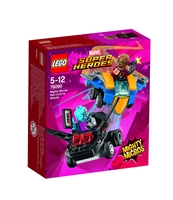 KLOCKI LEGO SUPER HEROES STAR-LORD VS. NEBULA 76090