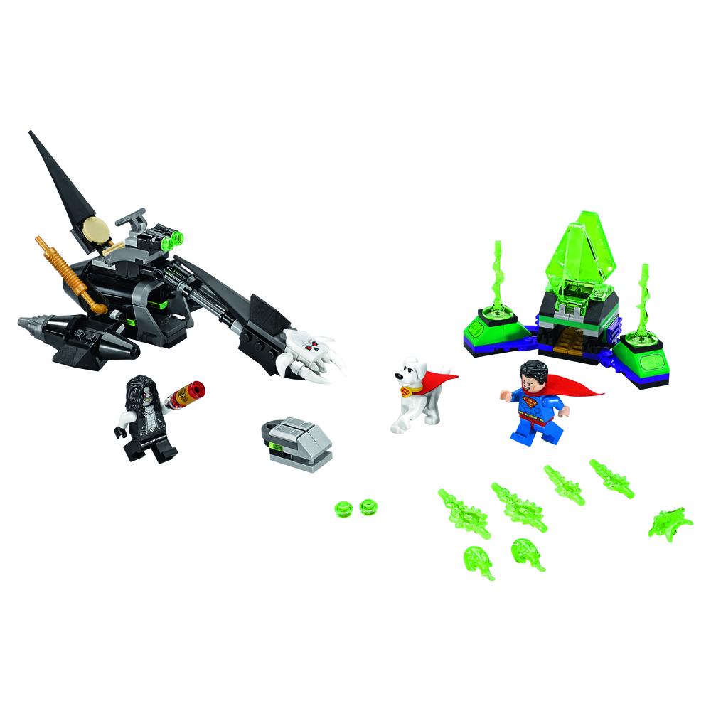 KLOCKI LEGO SUPER HEROES SUPERMAN™ & KRYPTO™ TEAM-UP 76096
