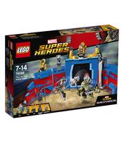 KLOCKI LEGO SUPER HEROES THOR KONTRA HULK: STARCIE NA ARENIE 76088