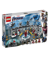 KLOCKI LEGO SUPER HEROES ZBROJE IRON MANA 76125