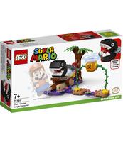 KLOCKI LEGO® SUPER MARIO SPOTKANIE Z CHAIN CHOMPEM W DŻUNGLI — ZESTAW DODATKOWY 71381