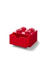 SZUFLADKA NA BIURKO KLOCEK LEGO® BRICK 4 (CZERWONY)