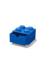 SZUFLADKA NA BIURKO KLOCEK LEGO® BRICK 4 (NIEBIESKI)