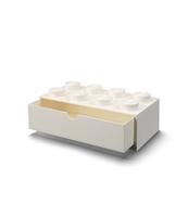 SZUFLADKA NA BIURKO KLOCEK LEGO® BRICK 8 (BIAŁY)