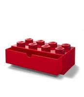 SZUFLADKA NA BIURKO KLOCEK LEGO® BRICK 8 (CZERWONY)