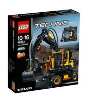 KLOCKI LEGO TECHNIC VOLVO EW 160E 42053