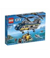 KLOCKI LEGO CITY HELIKOPTER BADACZY 60093