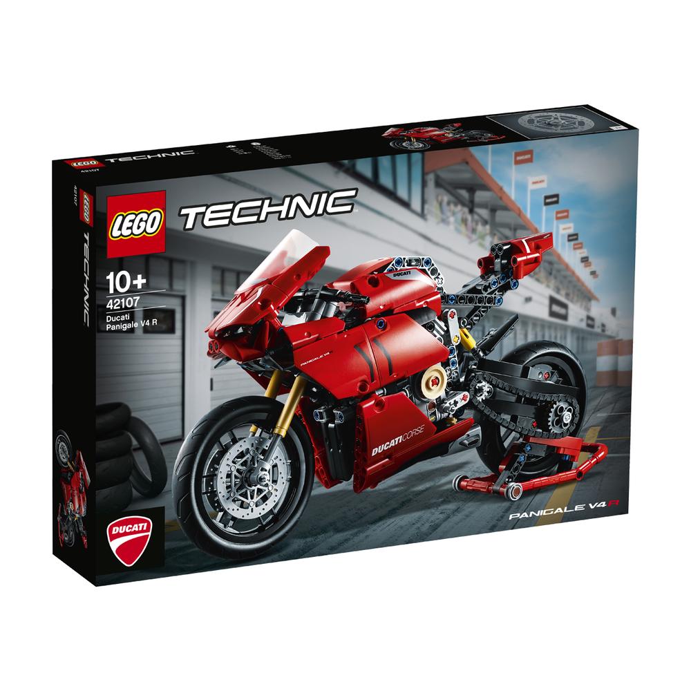 KLOCKI LEGO TECHNIC DUCATI PANIGALE V4 R 42107