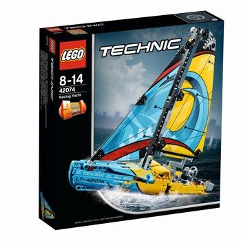 KLOCKI LEGO TECHNIC JACHT WYŚCIGOWY 42074