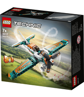KLOCKI LEGO® TECHNIC SAMOLOT WYŚCIGOWY 42117