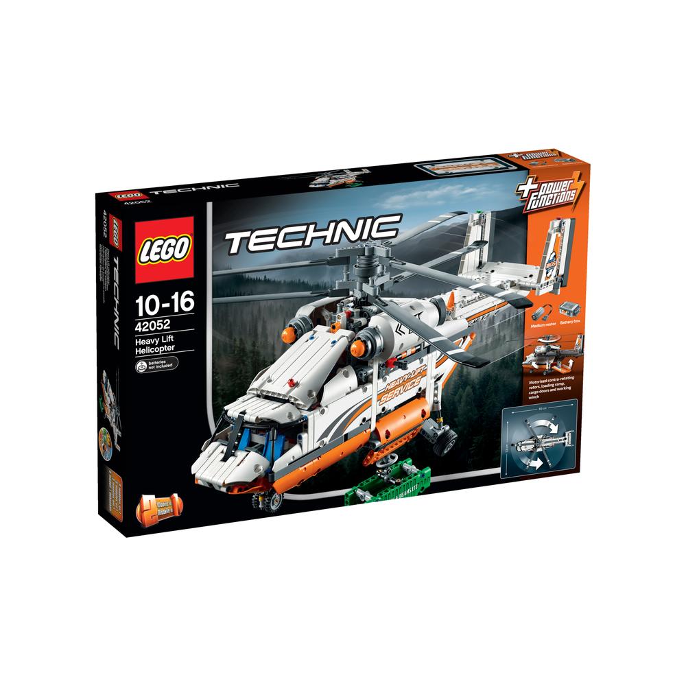 KLOCKI LEGO TECHNIC ŚMIGŁOWIEC TOWAROWY 42052