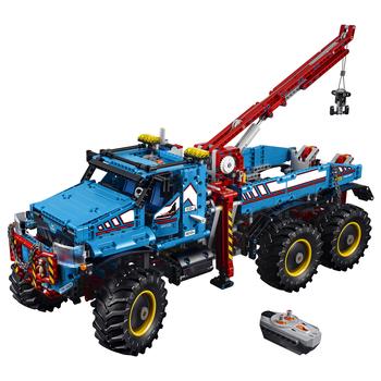 KLOCKI LEGO TECHNIC TERENOWY HOLOWNIK 6X6 42070