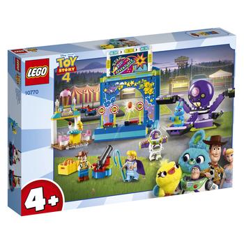 KLOCKI LEGO TOY STORY 4 KARNAWAŁOWE SZALEŃSTWO CHUDEGO I BUZZA 10770