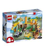 KLOCKI LEGO TOY STORY 4 PRZYGODA BUZZA I BOU NA PLACU ZABAW 10768