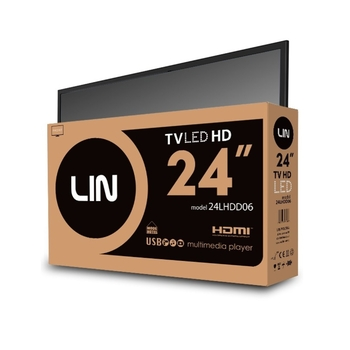 "TELEWIZOR LED 24"" LIN 24LHDD06"