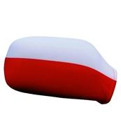 NAKŁADKA NA LUSTERKA Z FLAGĄ POLSKI