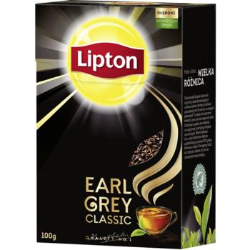LIPTON EARL GREY LIŚCIASTA 100G