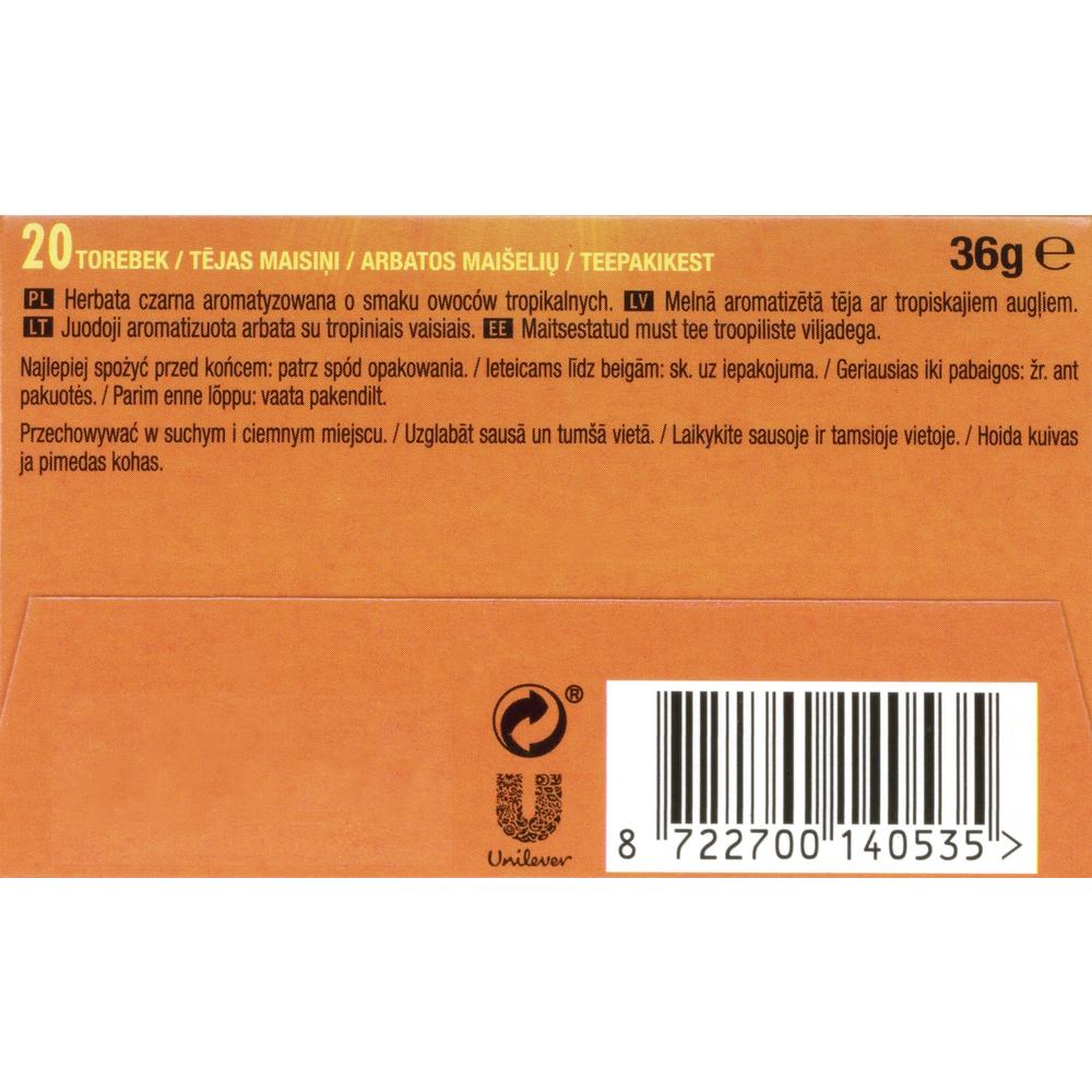 LIPTON PIRAMIDKI TROPICAL FRUIT 20TB X 1,8G