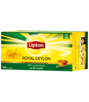 LIPTON ROYAL CEYLON 50TB