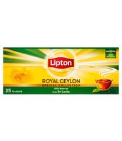 LIPTON ROYAL CEYLON HERBATA CZARNA 50 G (25 TOREBEK)