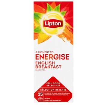 LIPTON CLASSIC ENGLISH BREAKFAST 25 KOPERT 50 G