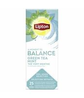 LIPTON CLASSIC GREEN TEA MINT 25 KOPERT X1,6G