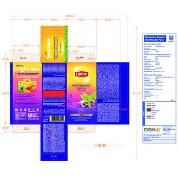 LIPTON CLASSIC PEPPERMINT 25 KOPERT X1,6G