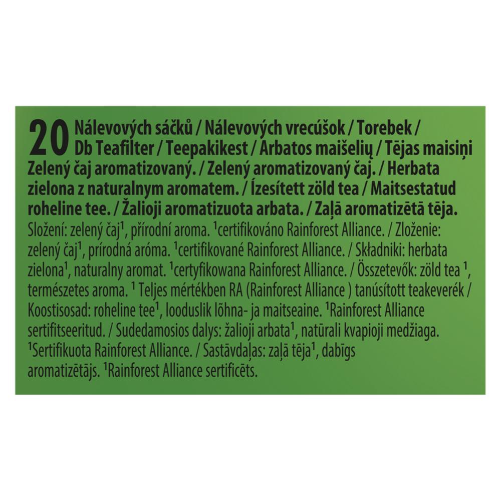 LIPTON NATURE HERBATA ZIELONA 28 G (20 TOREBEK)