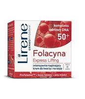 LIRENE FOLACYNA 50+ EXPRESS LIFTING KREM NA DZIEŃ 50 ML
