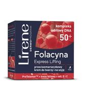 LIRENE FOLACYNA 50+ EXPRESS LIFTING NA NOC 50 ML