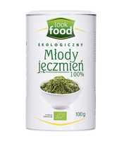 SUPERFOODS MŁODY JĘCZMIEŃ BIO 100G LOOK FOOD