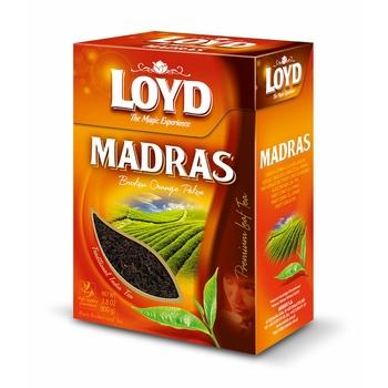 LOYD MADRAS – HERBATA CZARNA LIŚCIASTA ŁAMANA 100G