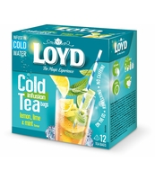 LOYD COLD INFUSION LEMON, LIME & MINT 2,5 G X 12 SZT