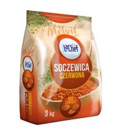 LA CHEF SOCZEWICA CZERWONA 3KG