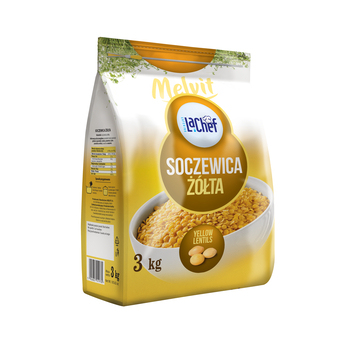 LA CHEF SOCZEWICA ŻÓŁTA 3KG