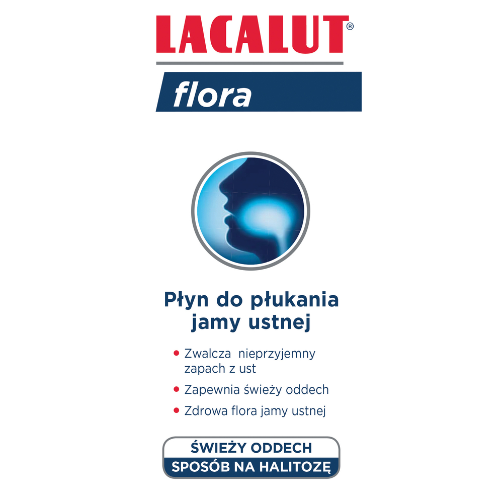 PŁYN LACALUT FLORA 300ML