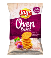 LAYS OVEN BAKED GRILLED VEGETABLES 125G