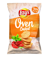 LAYS OVEN BAKED SUNDRIED TOMATO 125G
