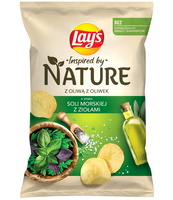 LAY'S INSPIRED BY NATURE SÓL MORSKA Z ZIOŁAMI 120G