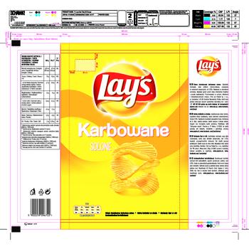 LAY'S KARBOWANE SOLONE 130G