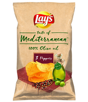 LAY'S MEDITERRANEAN 3PEPPERS 100G
