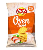 LAY'S OVEN BAKED CHICKEN BREAST & THYME 125 G