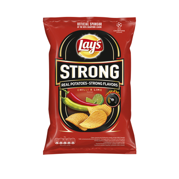 LAY'S STRONG CHILLI & LIME 210G