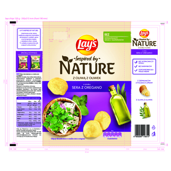 LAY'S INSPIRED BY NATURE SER Z OREGANO 120G