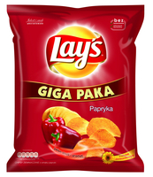 LAY'S PAPRYKA 285G