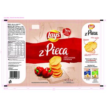LAY'S Z PIECA PAPRYKA 200G
