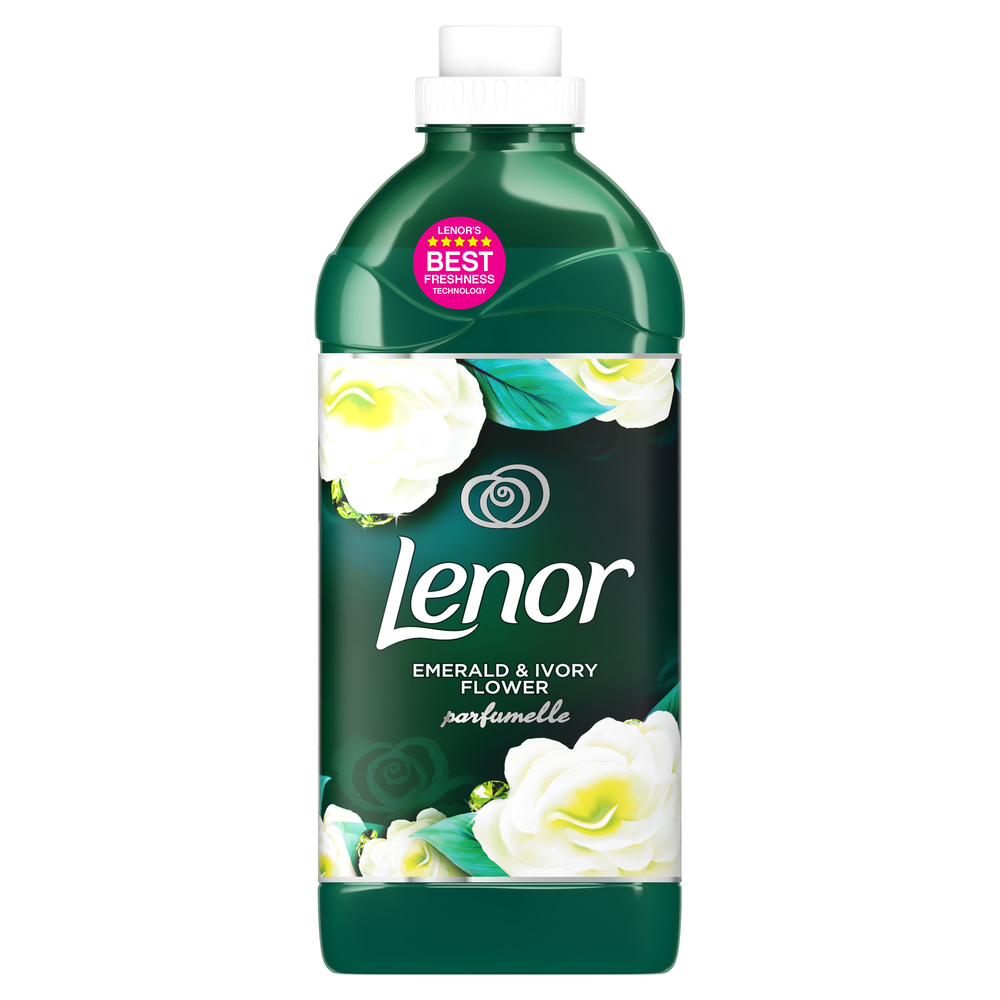 LENOR EMERALD & IVORY FLOWER PŁYN DO PŁUKANIA TKANIN 1080 ML