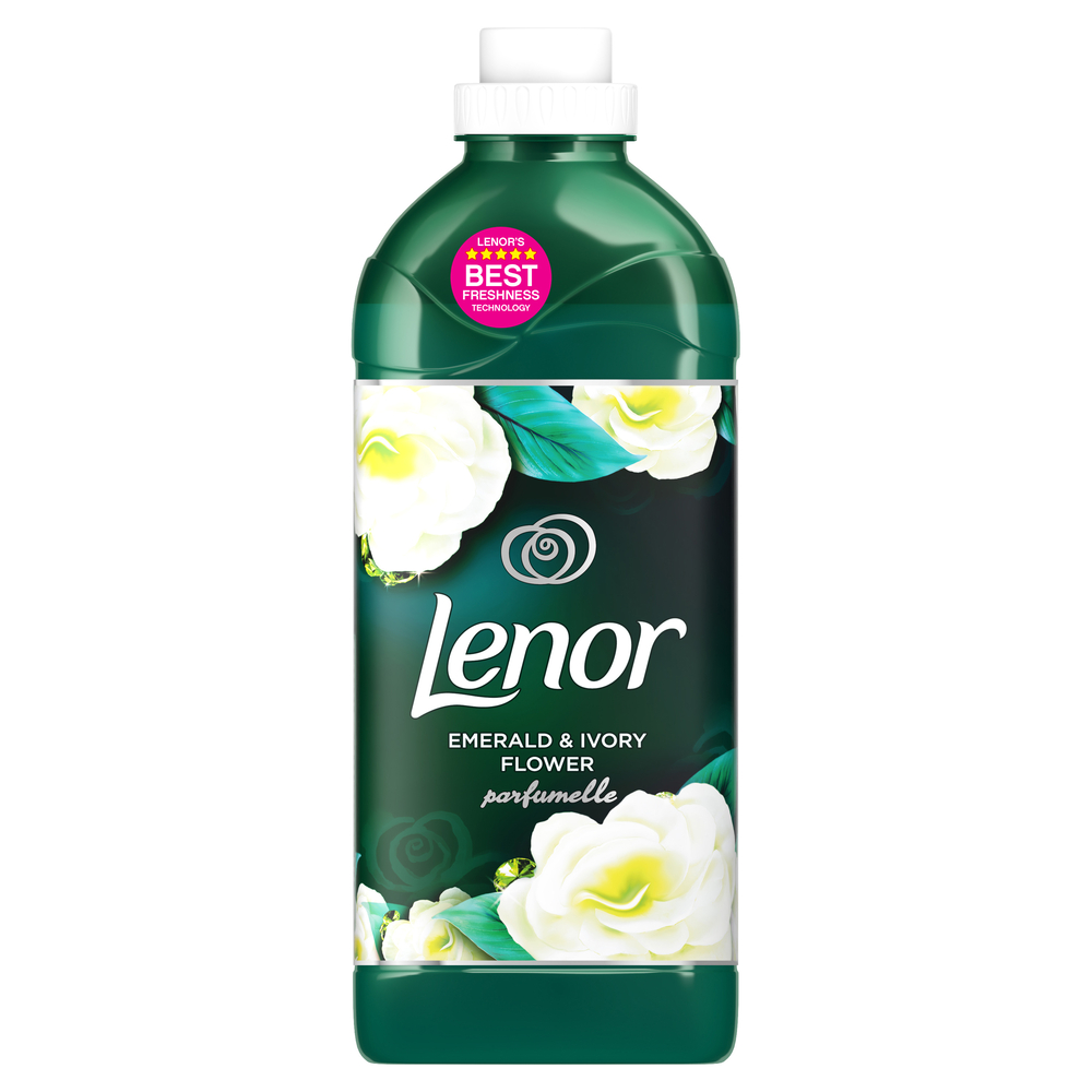 LENOR EMERALD & IVORY PŁYN DO PŁUKANIA TKANIN 1420 ML